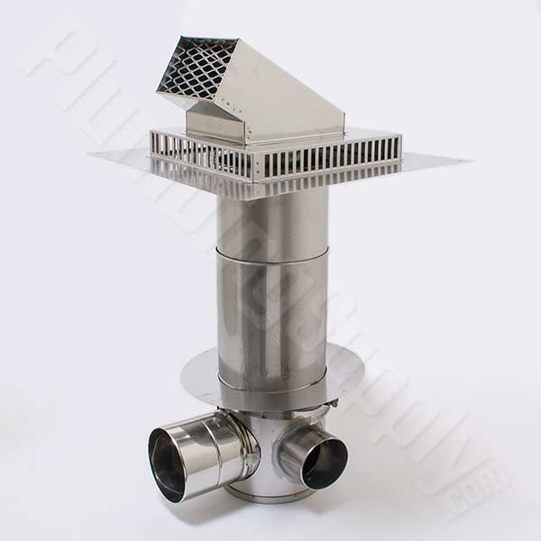 Category Iii Stainless Steel Vent Pipe For Takagi Tankless