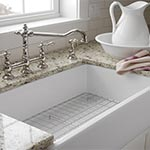 Barclay fireclay apron front sink