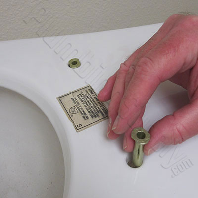 How To Install Toilet Seats On One Piece Toilets