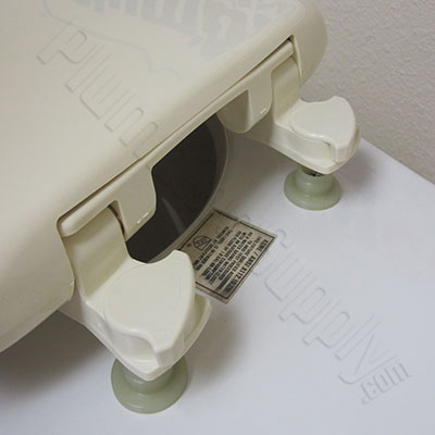 bemis toilet seat hinges. One piece toilet seat installation  Step 11 How To Install Toilet Seats on Piece Toilets