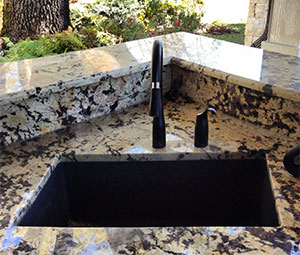 Outdoor Stone Sink : Outdoor Sinks