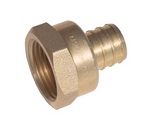 PEX barbed threaded female adapter