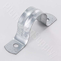 Galvanized pipe strap
