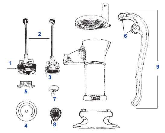 Pitcher Pump Parts