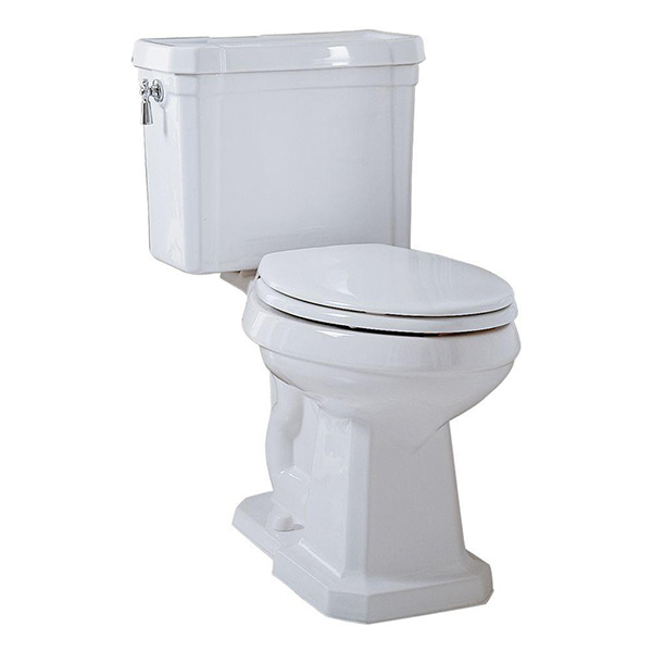 Porcher Lutezia Toilet - Two-Piece Tank #41160