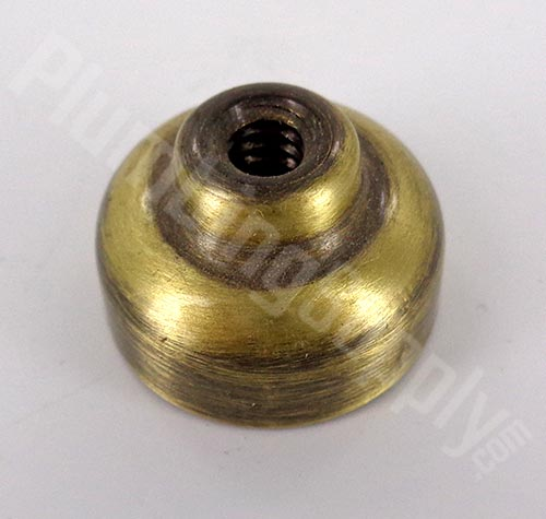 Price Pfister antique brass pop-up knob adapter 941-260N