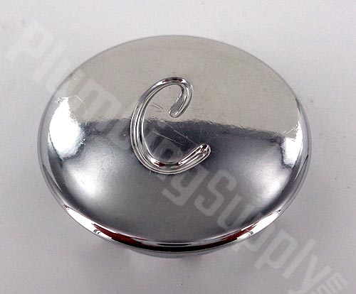 Price Pfister cold plastic chrome button 941-320AP
