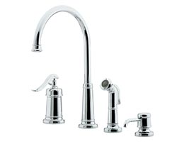 price pfister ashfield series kitchen faucet repair parts delta 400lf wf kitchen faucet with side spray old style