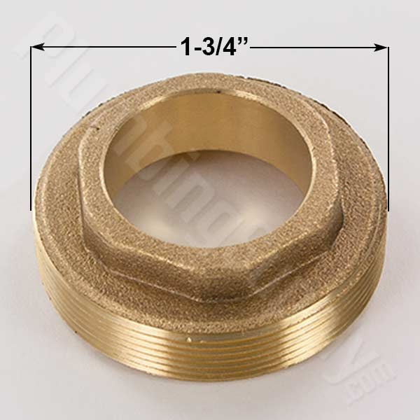 Price Pfister brass retainer nut 941-701