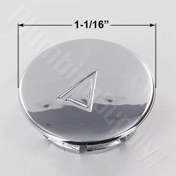 Price Pfister chrome plastic diverter button 941-340AP