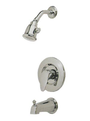 Pressure balance shower with lever handle