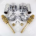 Tub/shower trim kit for Price Pfister faucets