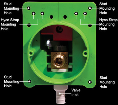 Easy To Use In Wall Shutoff Valves For Toilets And Faucets