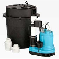 Laundry greywater pump packages