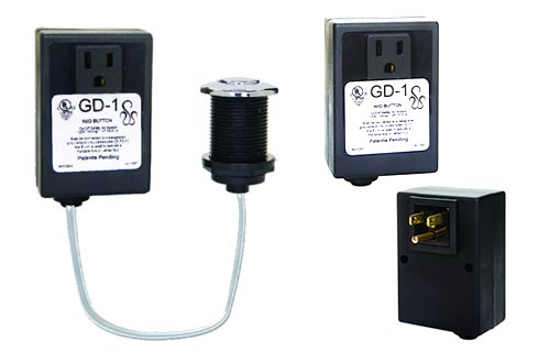 Complete GD-1 garbage disposer airswitch actuator