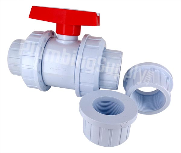 true union serviceable ball valve