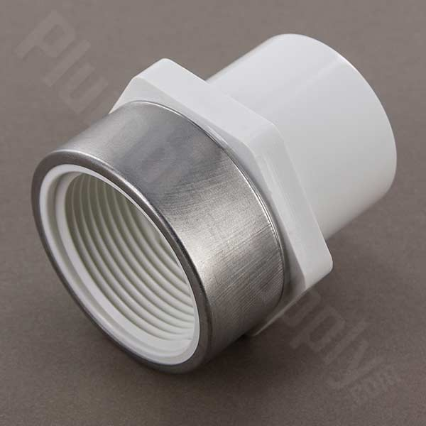 stainless steel reinforced fitting female adapter