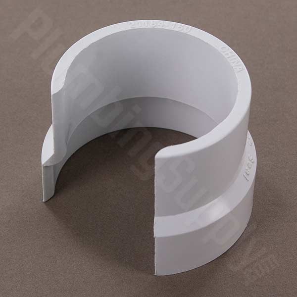 picture of PVC clip-on pipe seal