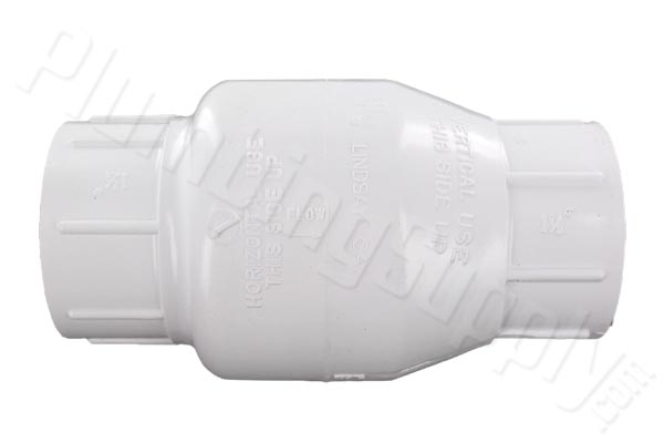 Image of PVC swing check valve