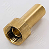 Brass Female Spigot Adapter