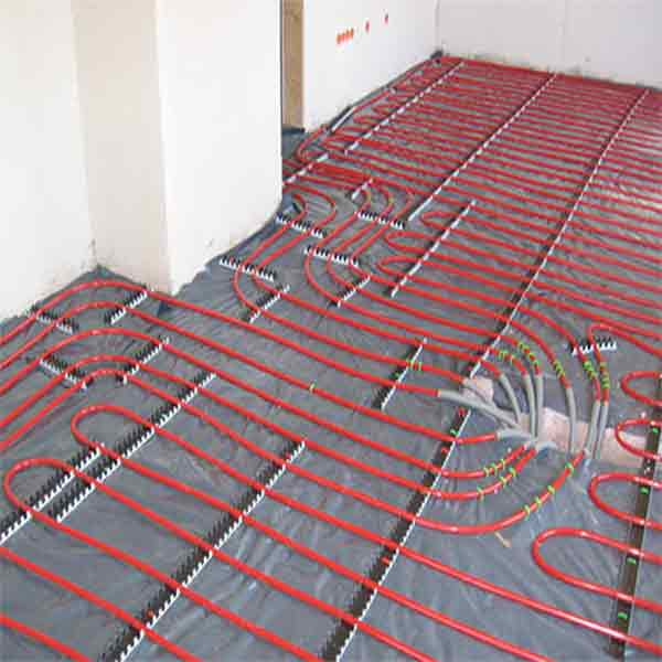 Electric underfloor heating for bathrooms