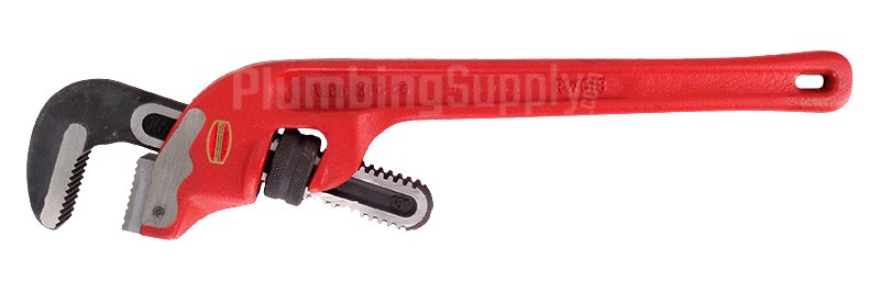 Reed offset pipe wrench