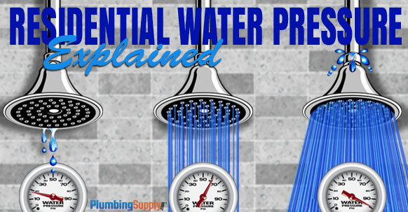 Residential Water Pressure Explained