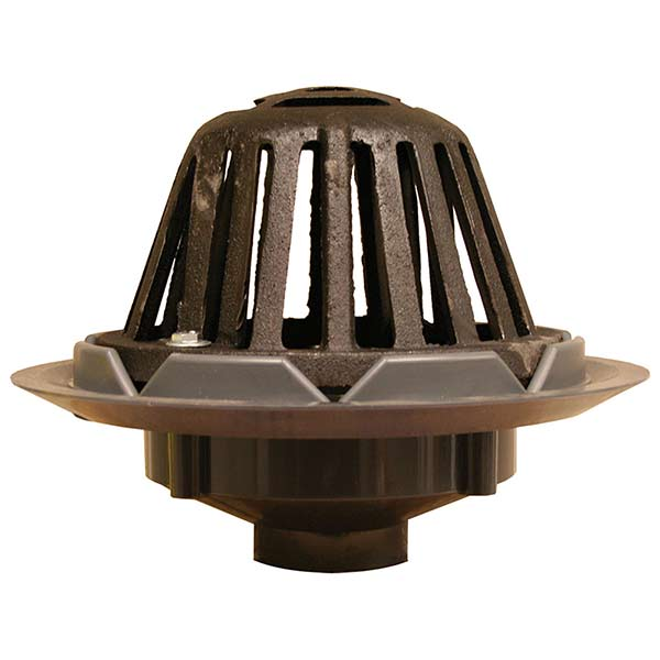 Roof Drain W/Cast Iron Dome ...
