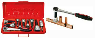 tee extractor kit with ratchet example by rothenberger