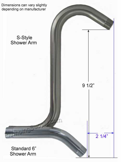 Shower Head Riser Arm Sweet Puff Glass Pipe