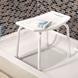 image of tub and shower seat