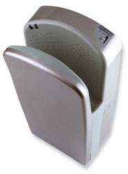 Image of Dualflow High Speed Hand Dryer, shown in Satin