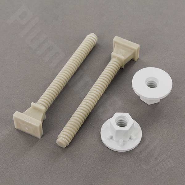 Replacement Toilet Bowl Bolt Caps And Tops In Many Colors
