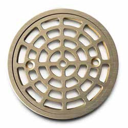 Premium cast screw-in replacement strainer in Nickel Bronze