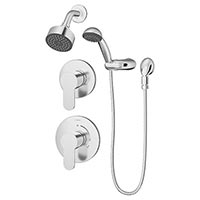 Identity shower head and hand shower system