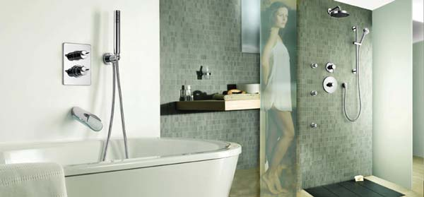 Matching Bathroom Fixtures : matching bathroom fixtures thermostatic showers offer you constant ...