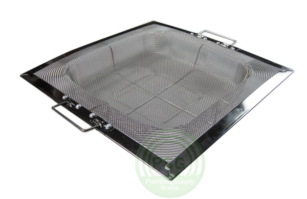 floor sink mesh strainer