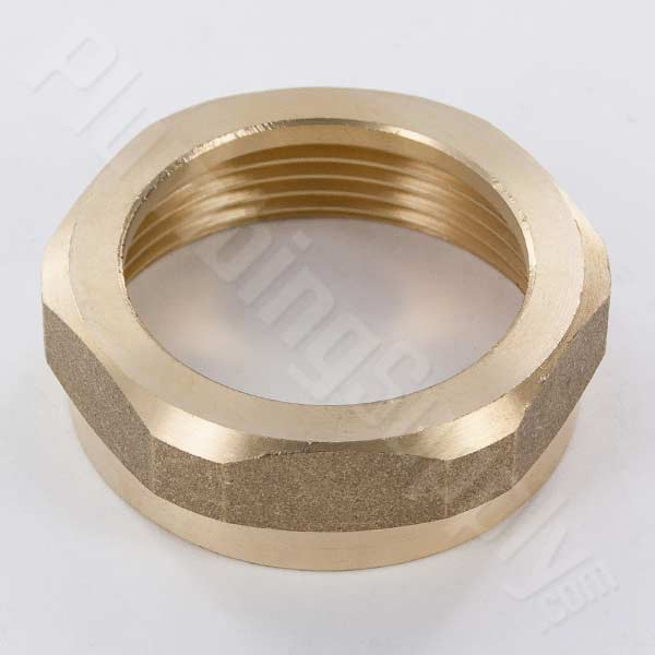 All brass SJ nut with built-in washer