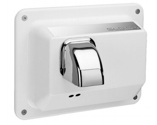 Sloan Optima recess mounted sensor-operated hand dryer