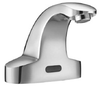 electronic automatic lavatory faucet