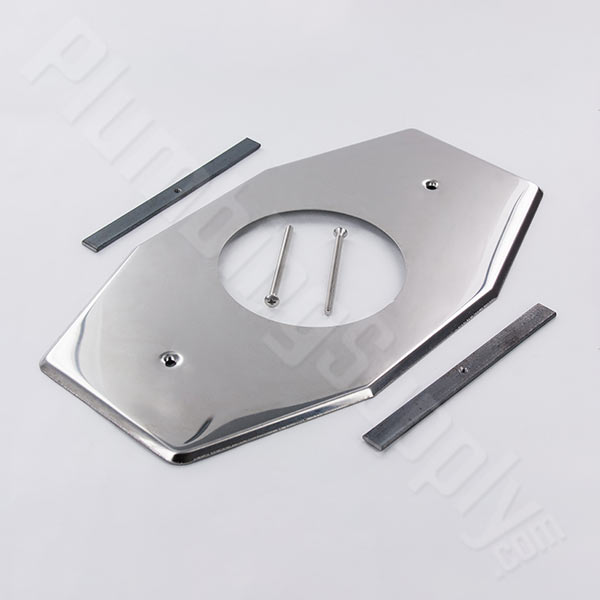 1 hole 4 and a half inch smitty plate stainless steel