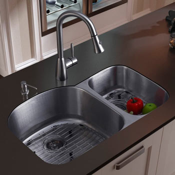 Example Of Undermount Sink Installed