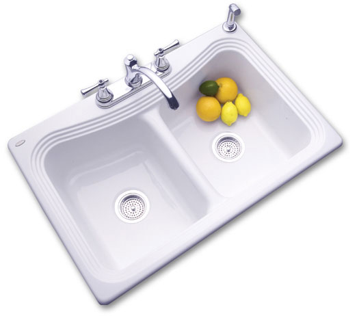 SolidCast Stockton kitchen sink