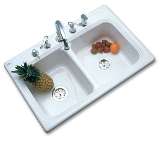 SolidCast Tacoma kitchen sink
