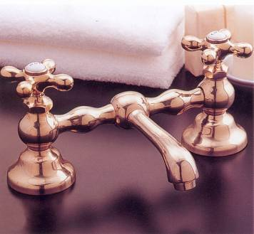 old fashion bridge style bathroom faucets