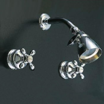 Thames vintage shower set in chrome