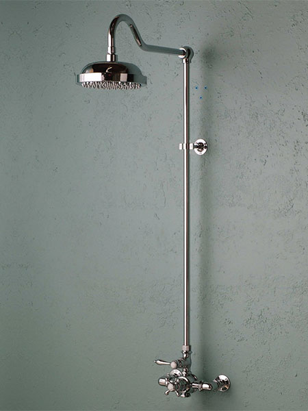 Elegant European Style Exposed Showers