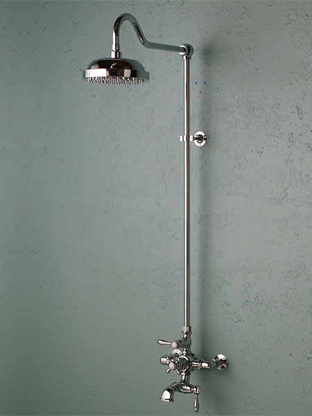 Old fashioned thermostatic shower system, model P0903C