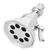 Chrome Vintage style shower head