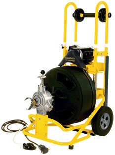 Speedway drain cleaning equipment - 6500 Series